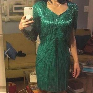 Vintage 80's Party Dress